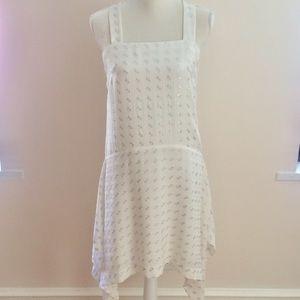 NWOT Club Monaco silk dress